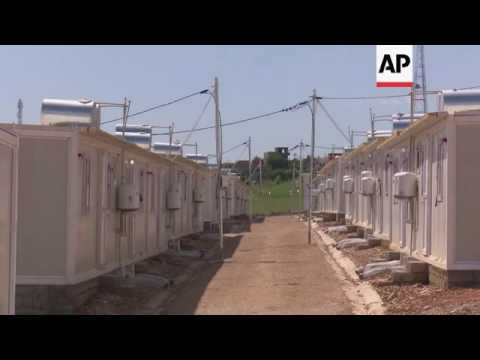 New camp for displaced Yazidis in Iraq