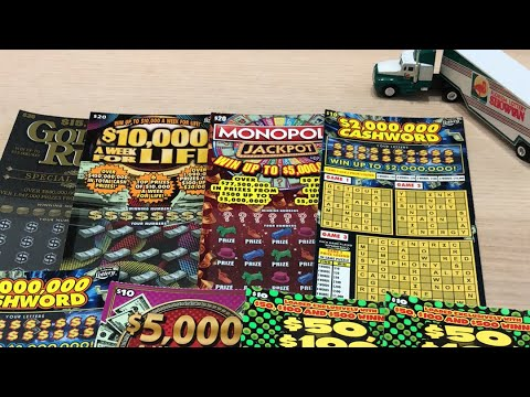 $120 In Florida Lottery Tickets! 🤓✌️🍀