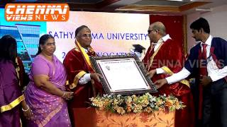 Satyabama University 24th Convocation in Chennai