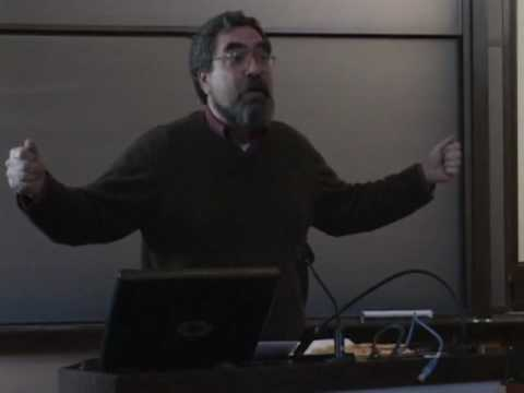 Anthony Grafton Lecture on Princeton's Preceptorial System, ca. 2006