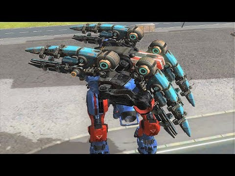 Download Youtube: War Robots - Scourge Weapon Gameplay on Test Server