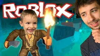 We discover the secret corners! -Roblox #3-Exploration Obby 2 BETA! [Xbox One]