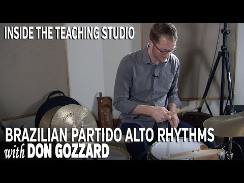 Brazilian Partido Alto Rhythms on Drumset / Inside the Teaching Studio