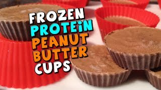 Download lagu Frozen PROTEIN Peanut Butter Cups Recipe (22g Protein + Low fat/carbs!)