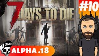 Handlarz Wyrzucił Mnie z Kanciapy w 7 Days to Die PL #10 | Dzień 10 | Alpha 18 | Rizzer survival