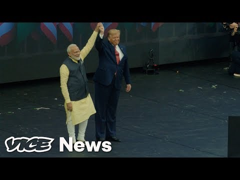 'Howdy Modi': India's Prime Minister Threw a Right-Wing Blowout with Trump at a Football Stadium in Texas