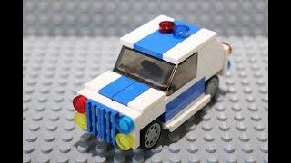Как сделать полицейскую машину из лего. Самоделка из Лего