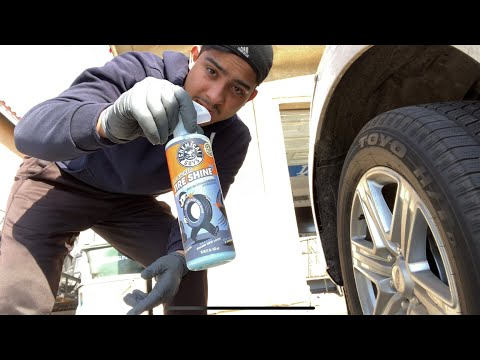Chemical Guys Tire Kicker! tire shine review!