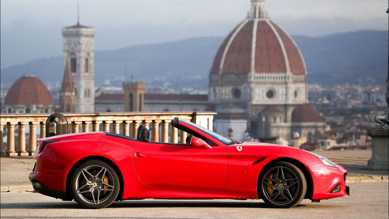 Ferrari Test Drive In Florence Italy Youtube