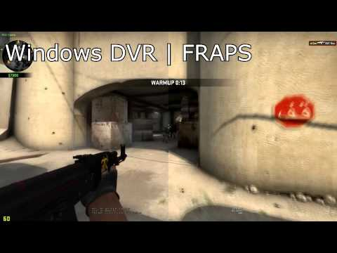 Windows DVR Analysis - Comparison with FRAPS