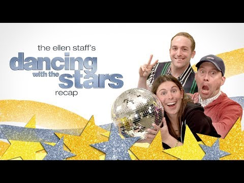 The Ellen Staff's Most Memorable 'Dancing with the Stars' Recap