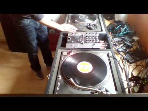 Al Mac Vinyl Hard and Acid techno Studio dj mix 18/03/17