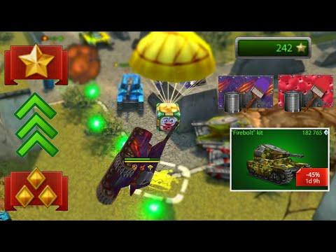 Tanki Online Road To Brigadier #4 - Buying FireBolt Kit!? - State