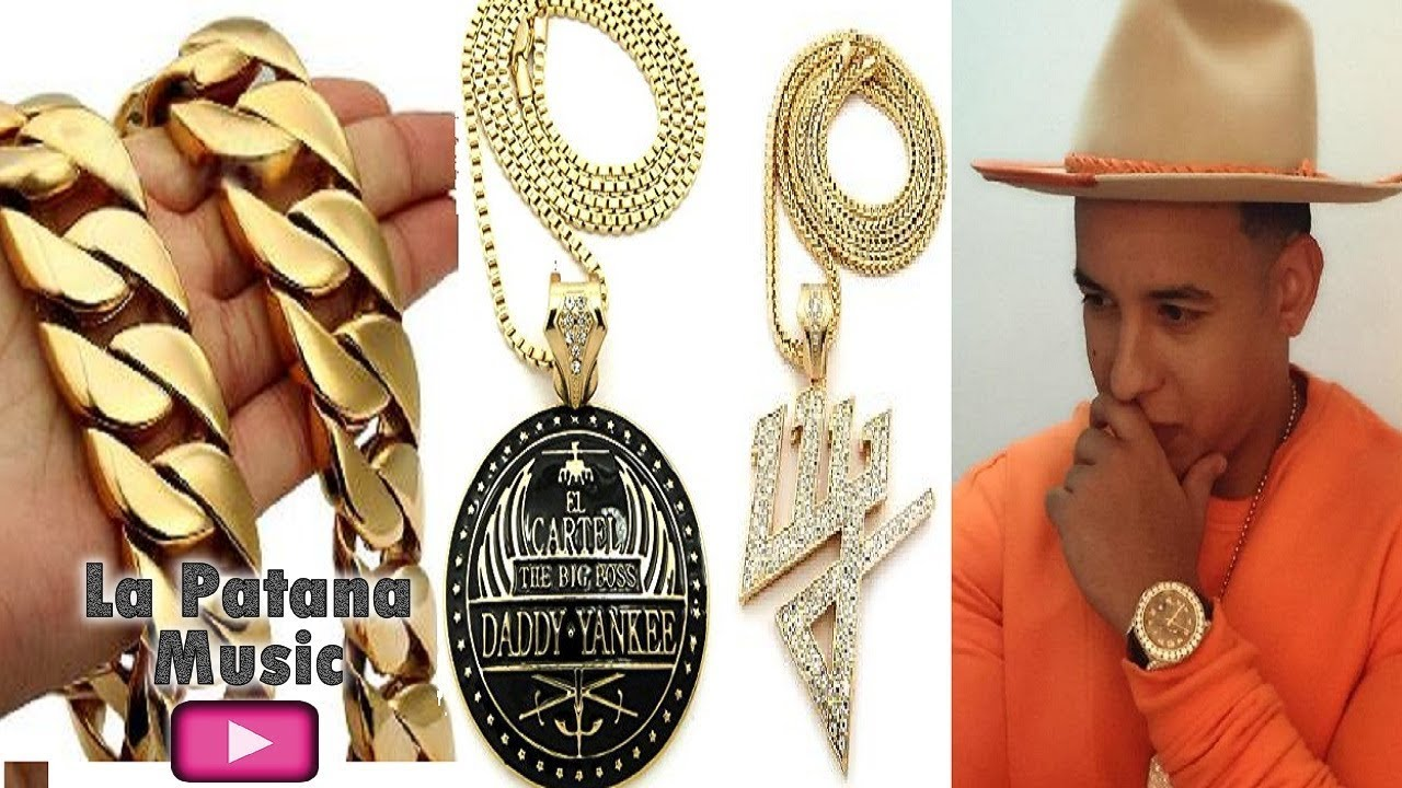 2b7de23339091 The expensive Jewelry of Daddy Yankee