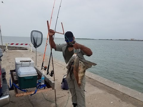 Fishing The North Jetty In Port Aransas