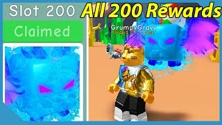 Unlocked All 200 Atlantis Rewards! Atlantis Overlord! New Best Pet! - Roblox Bubble Gum Simulator