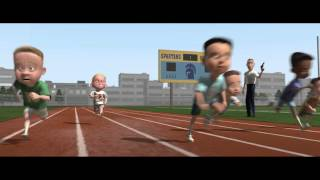 The Incredibles race scene