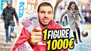 J'OFFRE 1000 EUROS À CELUI QUI RÉUSSI! (Et ce n'est  pas des blagues)