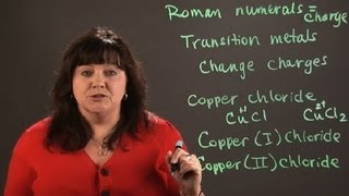 How to Use Roman Numerals in Chemistry Nomenclature : Chemistry and Physics Calculations