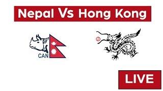 Live: Nepal vs Hong Kong | ACC Emerging Teams Cup 2017 thumbnail