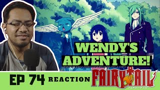 """Fairy Tail Episode 74 [REACTION] """"Wendy's First Big Job!?"""""""
