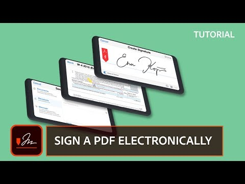 Sign PDF Files Electronically