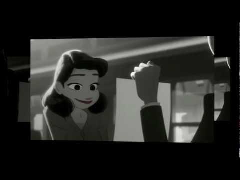 Paperman (full HD) - Paperman's Memories - Ludovico Einaudi