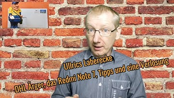 Ullrics Laberecke Over and Out #Gewinnspiel #CO2 Steuer #YouTube Tricks #DHL #RedmiNote7