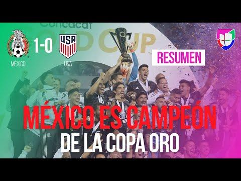 México 1-0 Estados Unidos - GOL Y RESUMEN - Final - Copa Oro
