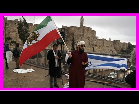 Iranian Israelis stage solidarity protest in Jerusalem