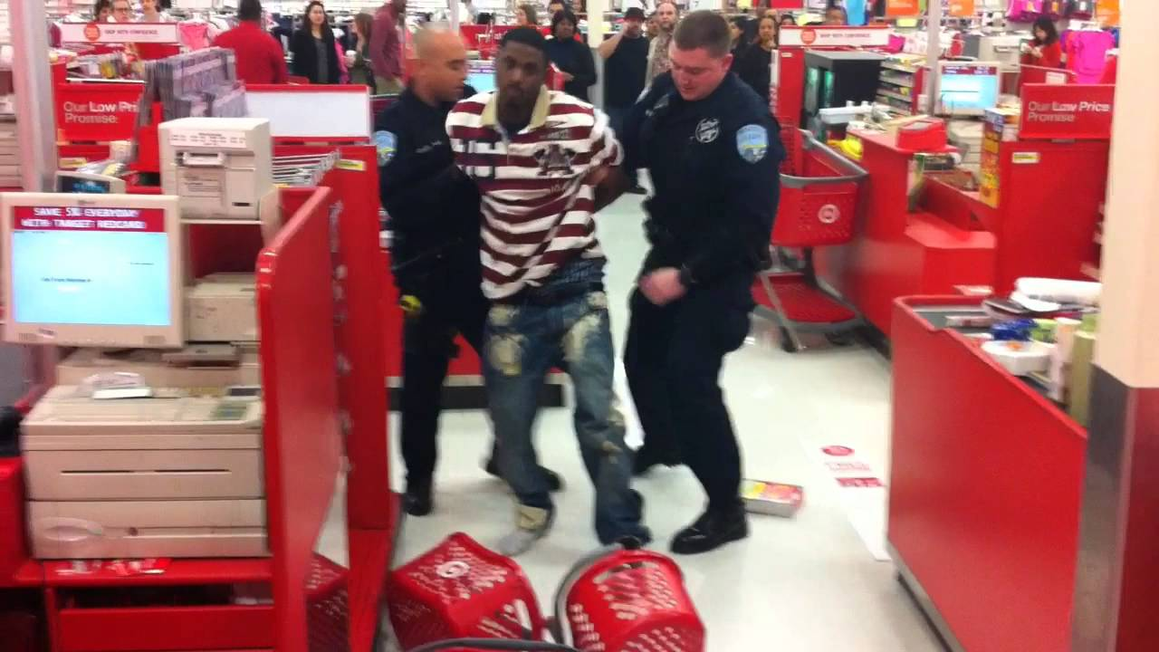 Target Arrest - YouTube