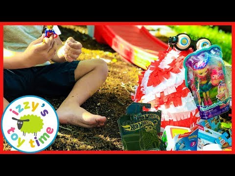 Easter Egg Hunt Surprise Toys! Awesome Outdoor Fun with Izzy's Toy Time!