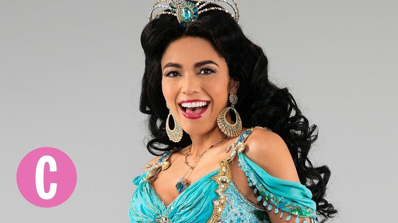princess jasmine from aladdin on broadway comes to life
