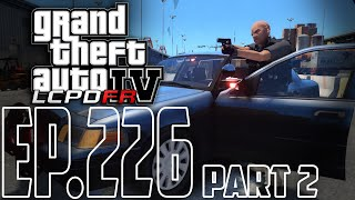 GTA 4 LCPDFR | Episode 226 - US Marshal Patrol! Part 2