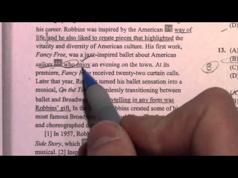 New SAT, Writing & Language + Reading