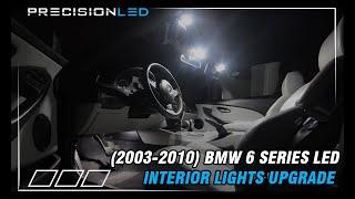 BMW 6 Series LED Install How to E63/E64 2003-2010