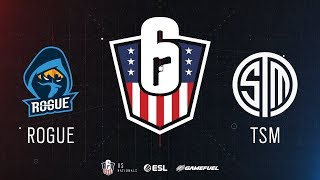 Rogue vs. TSM | Rainbow Six: US Nationals - 2019 | Stage 2 | Western Conference Final