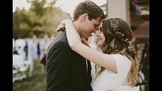 Anna + Trenton | Wedding Reception
