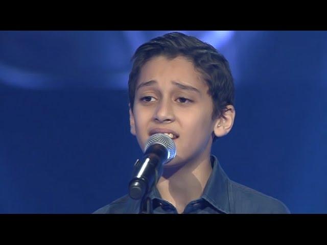أحمد عماد – جانا الهوا - مرحلة الصوت وبس – MBCTheVoiceKids #1