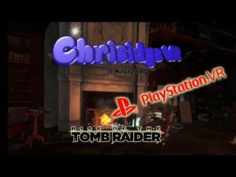 RISE OF THE TOMB RAIDER VR - Gameplay PSVR