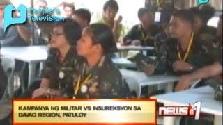 News@1: Kampanya ng militar vs. insureksiyon sa Davao Region, patuloy || Jan. 24, 2014