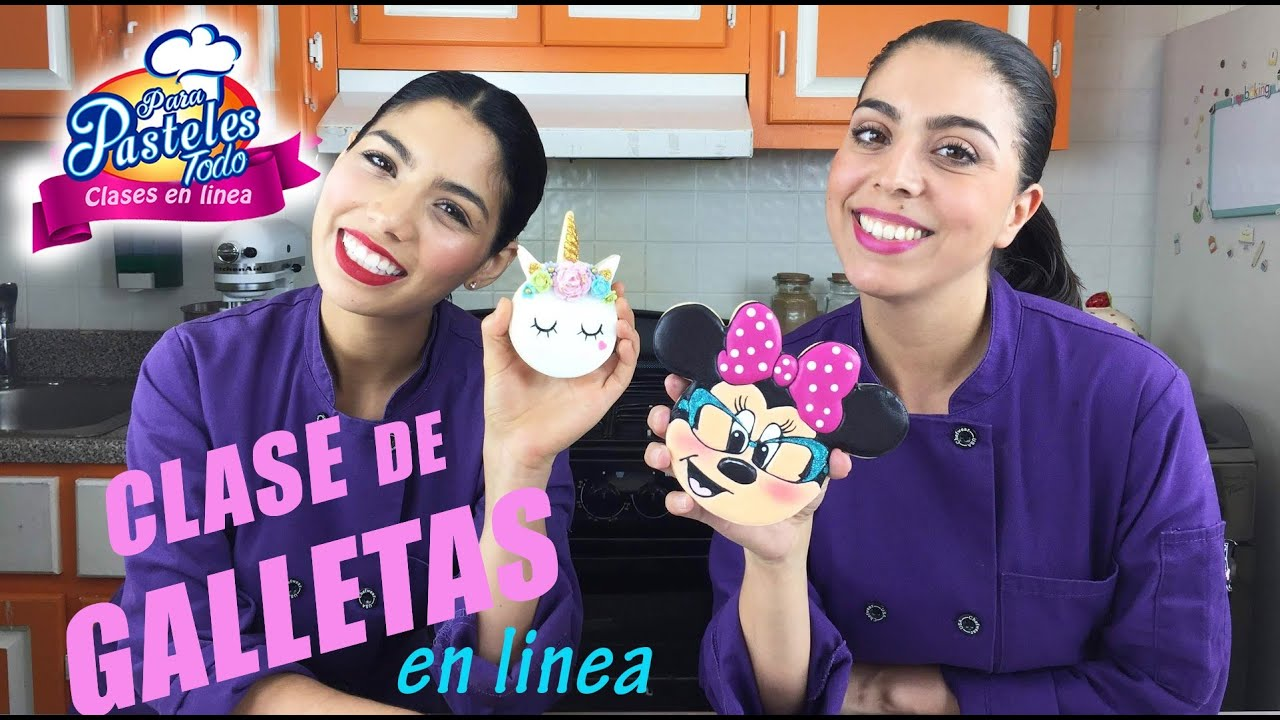Curso En Online De Galletas Youtube