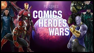 Dota 2 Mods   SNAPPING THE ANCIENT!! COMICS HEROES WARS!!