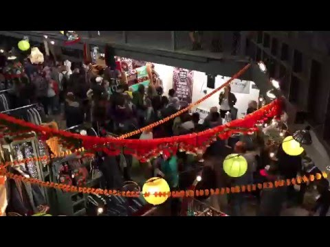 Portland Night Market. Multi-Angle Time-Lapse Overview.