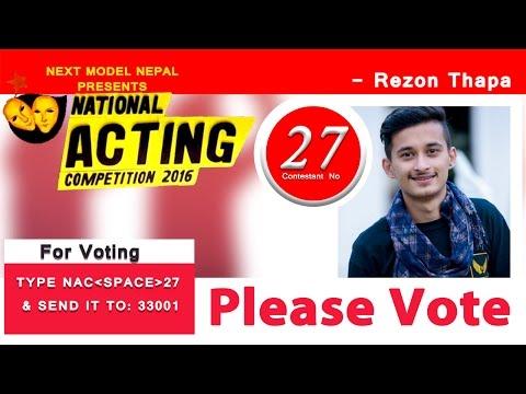 NAC - Rezon Thapa (Daily Voting)  | Nira | Photo Kathmandu