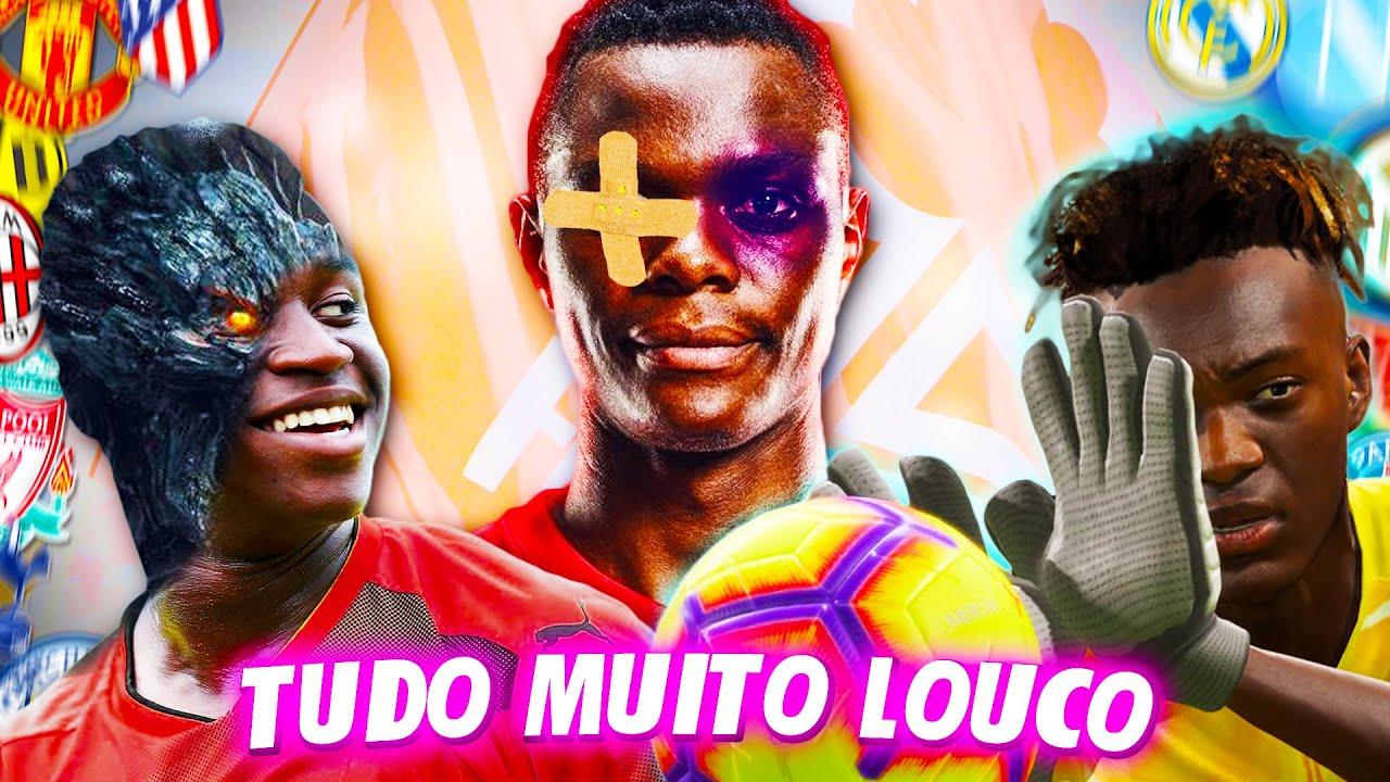 Moukoko fica SINISTRO, Chelsea SEM GOLEIRO e Daka LESIONADO! | Modo Carreira Ultraliga #79 | FIFA 20