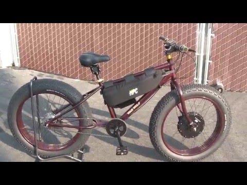 WAR WOLF ELECTRIC FAT BIKE 3000w 36mph Custom by Hi Trek Cycles