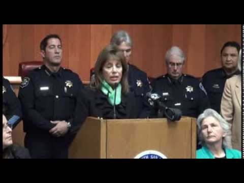 Congresswoman Speier and SSF Police Chief Massoni announce Human Trafficking Protocol