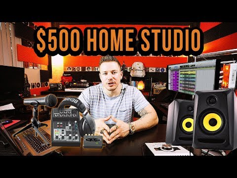 How To Build A Complete Home Studio - $500 Budget - SmartRapper.com