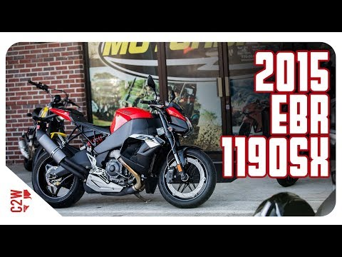2015 EBR 1190 SX   First Ride